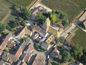 Les villages bourguignons et ses toits vernissés uniques